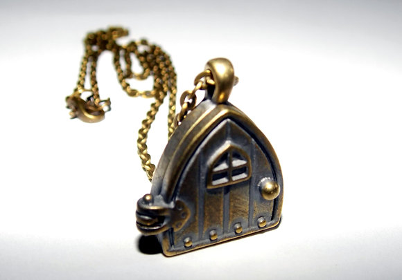 Fantasy Door Locket Necklace