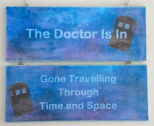 The Doctor Is In (Rustic)
