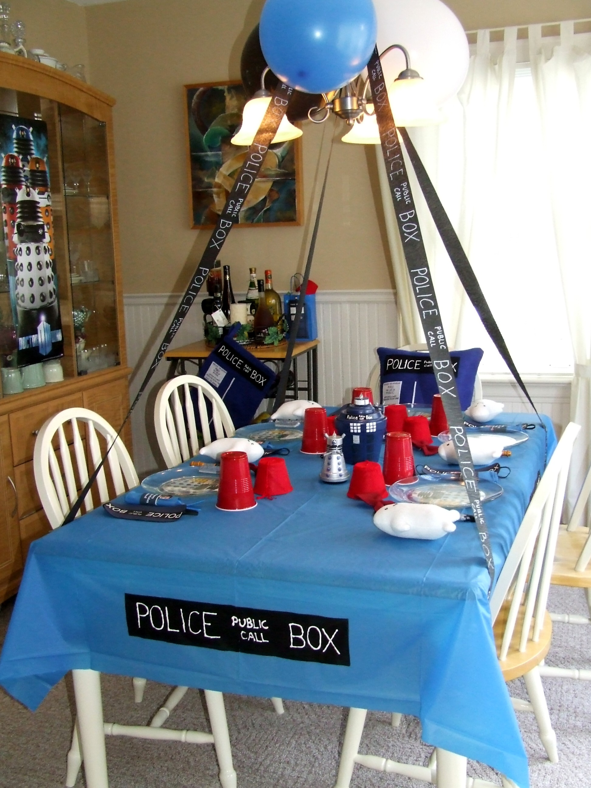 geekery, party ideas