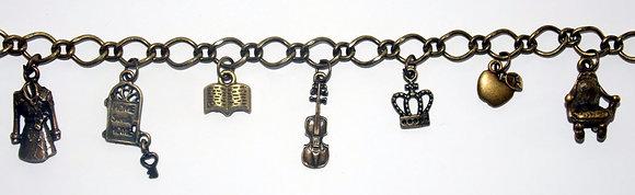 Holmes Sweet Home Charm Bracelet
