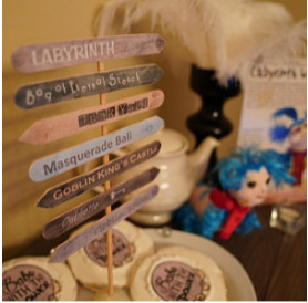 Labyrith Sign Post