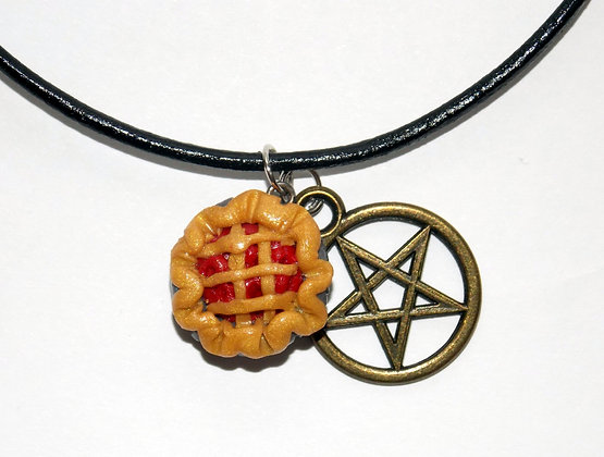 Winchester Pie Charm Necklace