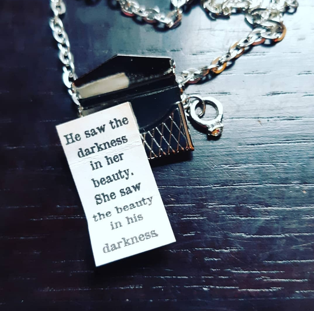 Fandom Letter Necklace