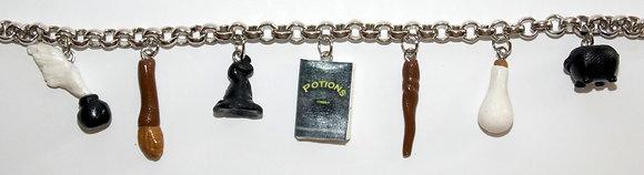 Student Wizard's Charm Bracelet