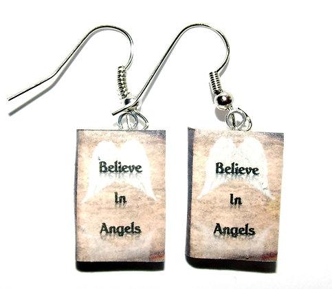 Believe In Angels Earrings