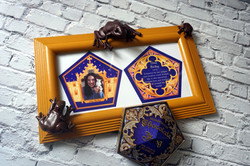 Personalized Chocolate Frog Card