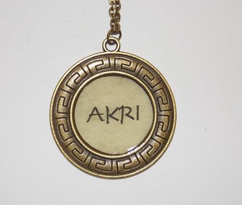 Akri Pendant