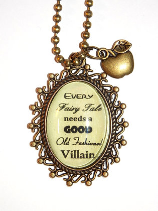 Fairytale Villain Metal Necklace