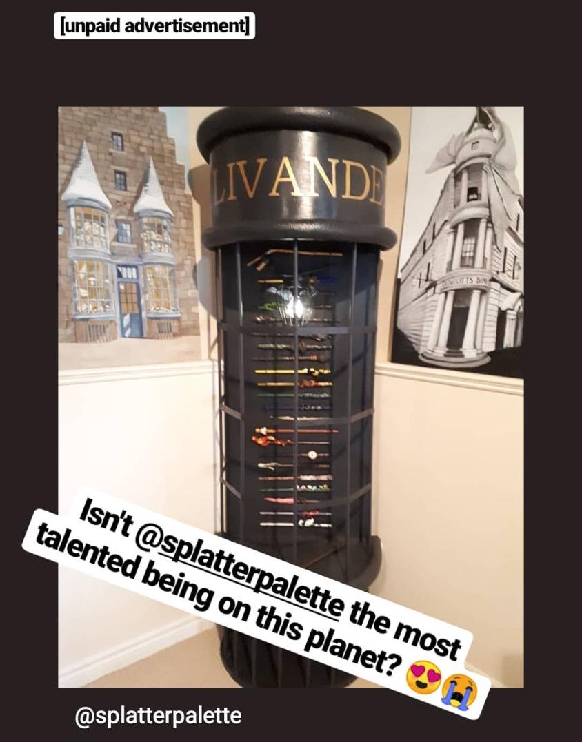 Ollivander's Wand Stand