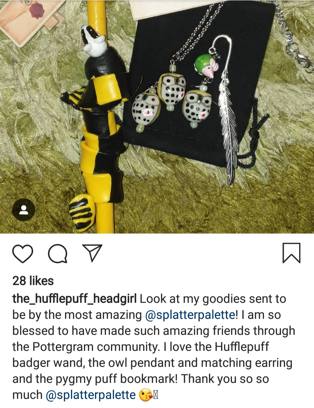 Gifts to a Hufflepuff friend!