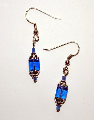 Tesseract Earrings
