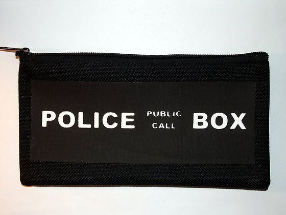 Police Box Pencil Case