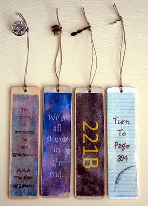 Rustic Fandom Bookmarks