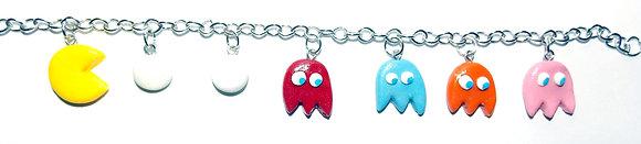 Retro videogame  charm bracelet