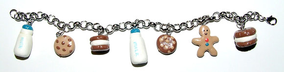 Cookies and Milk Bracelet