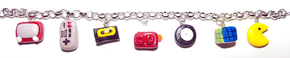 Retro Charm Bracelet