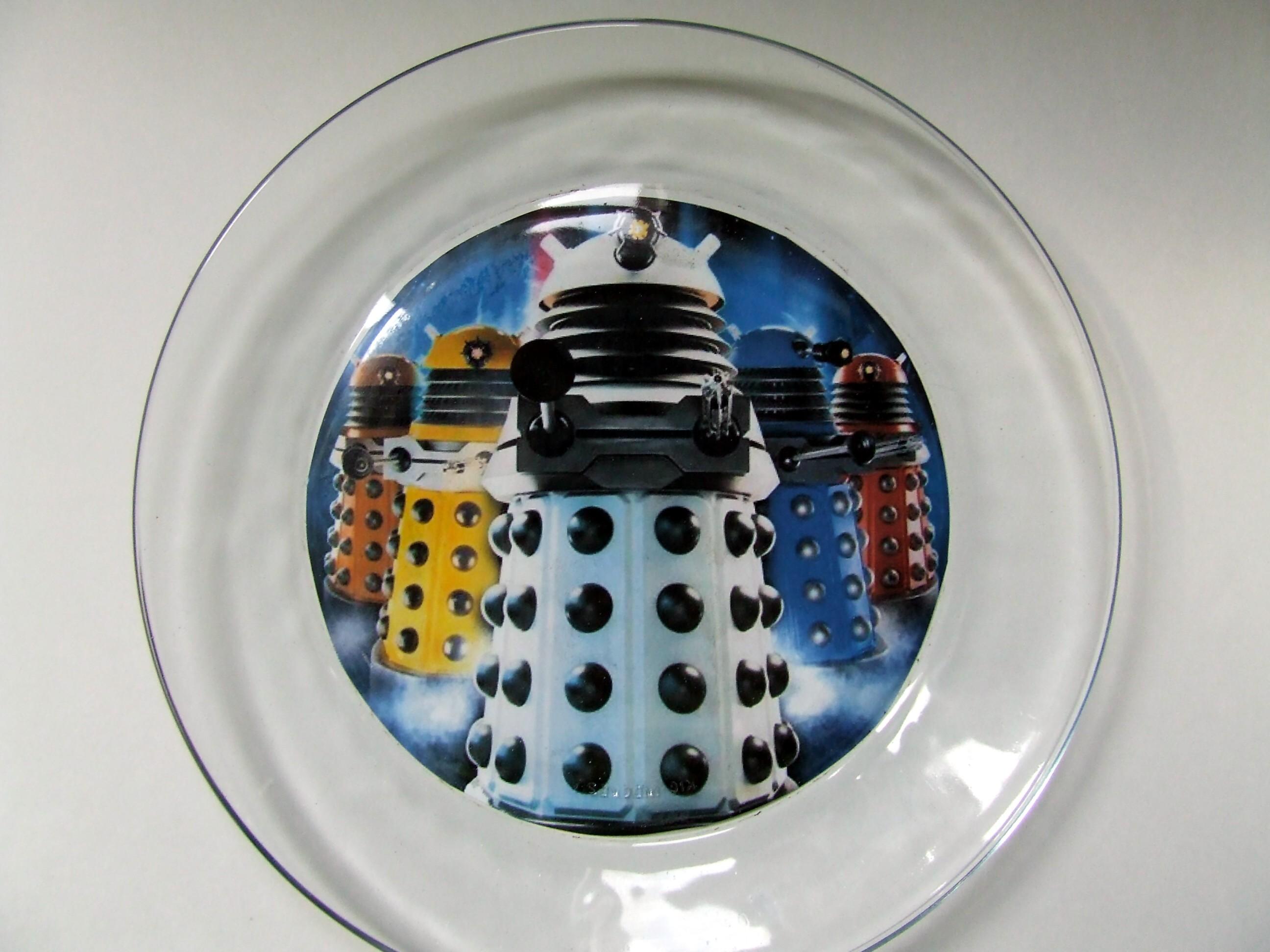 Dalek Party Plates