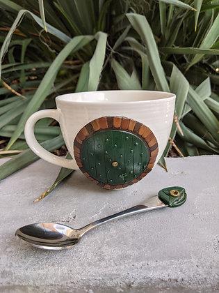 Door Mug and Spoon Set