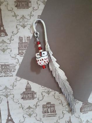 Ceramic Owl Delivery Bookmark