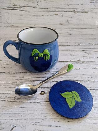 Tree Dweller Mug and Spoon Set