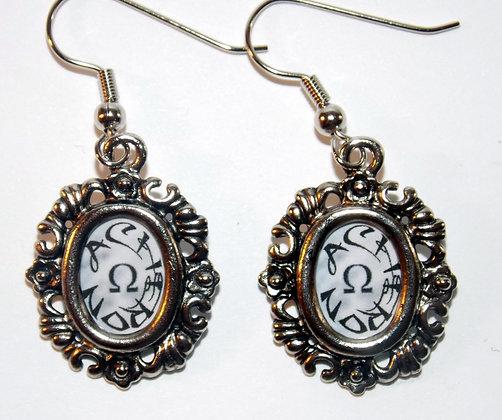 Framed Acheron Earrings