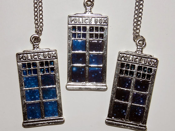 Galaxy Box Necklace