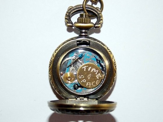 Time Traveler Locket Necklace