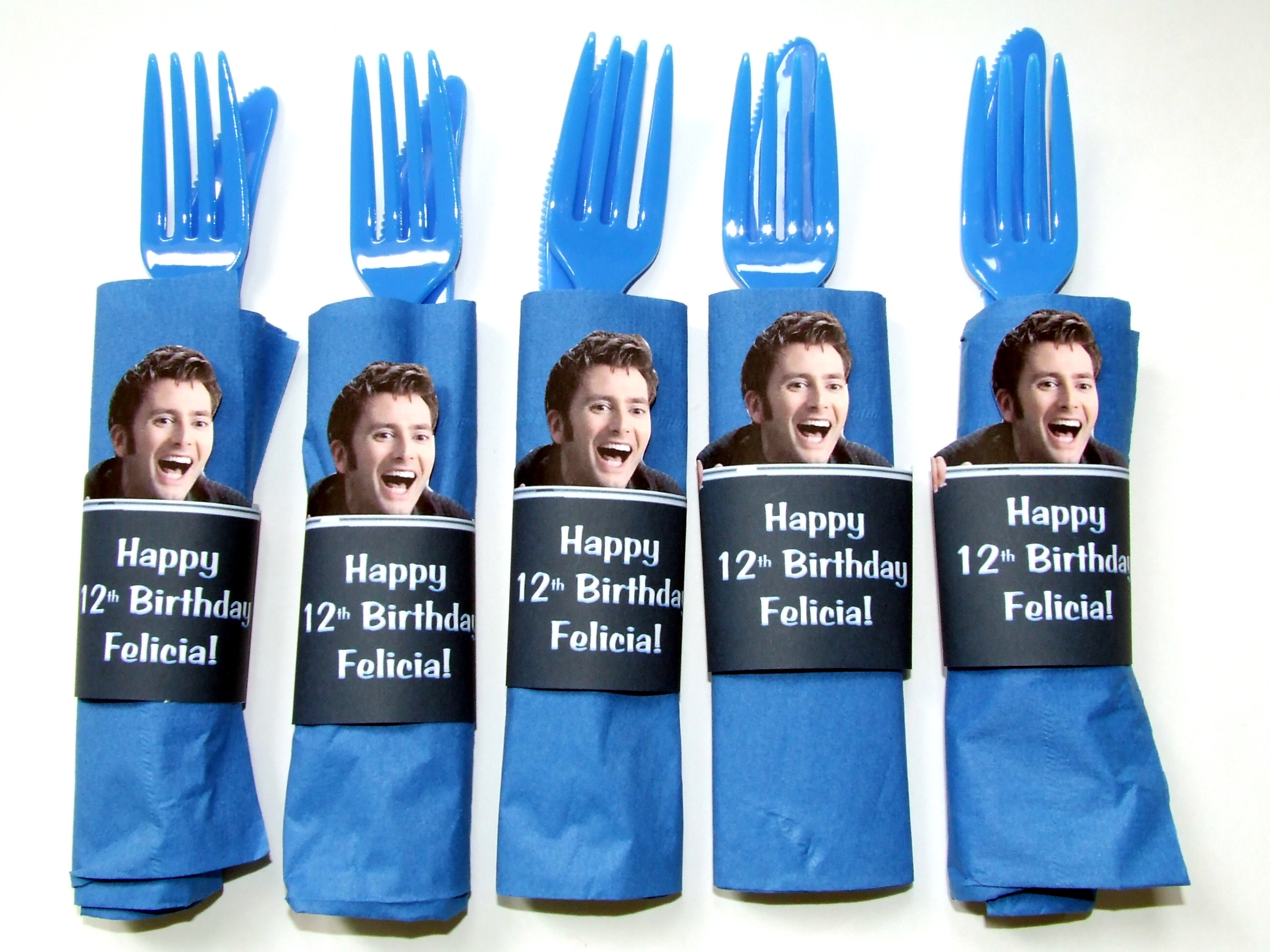 Doctor Who Napkin Rings