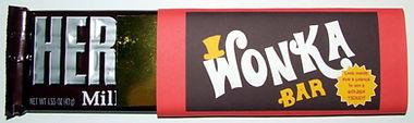 d.i.y Wonka invitation
