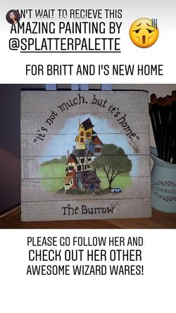 Burrow Sign