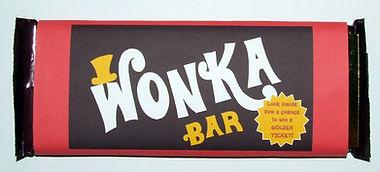 D.i.y Wonka Bar invitation