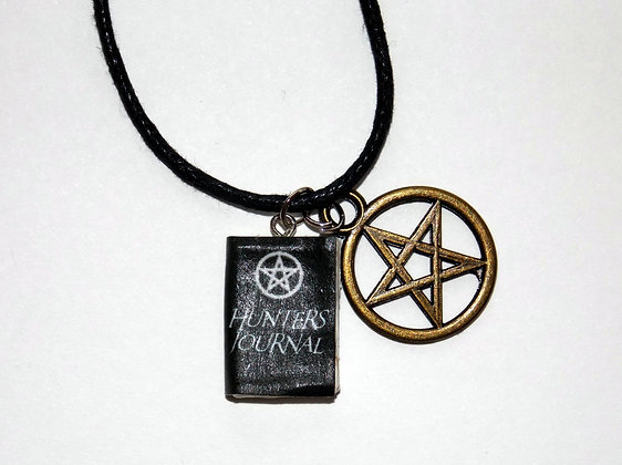Hunters Journal Charm Necklace