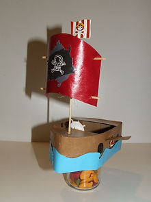 d.i. y pirate ship for party