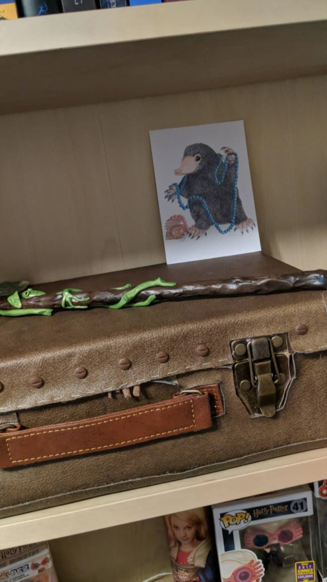 Bowtruckle Wand