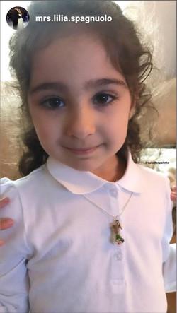 Flower Necklace for a princess!