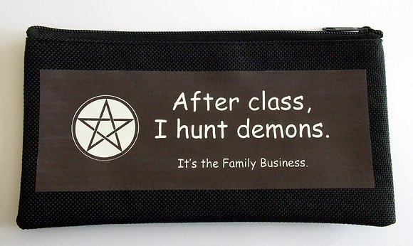 I Hunt Demons Pencil Case