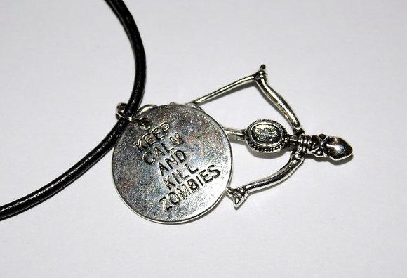 Kill Zombies Necklace