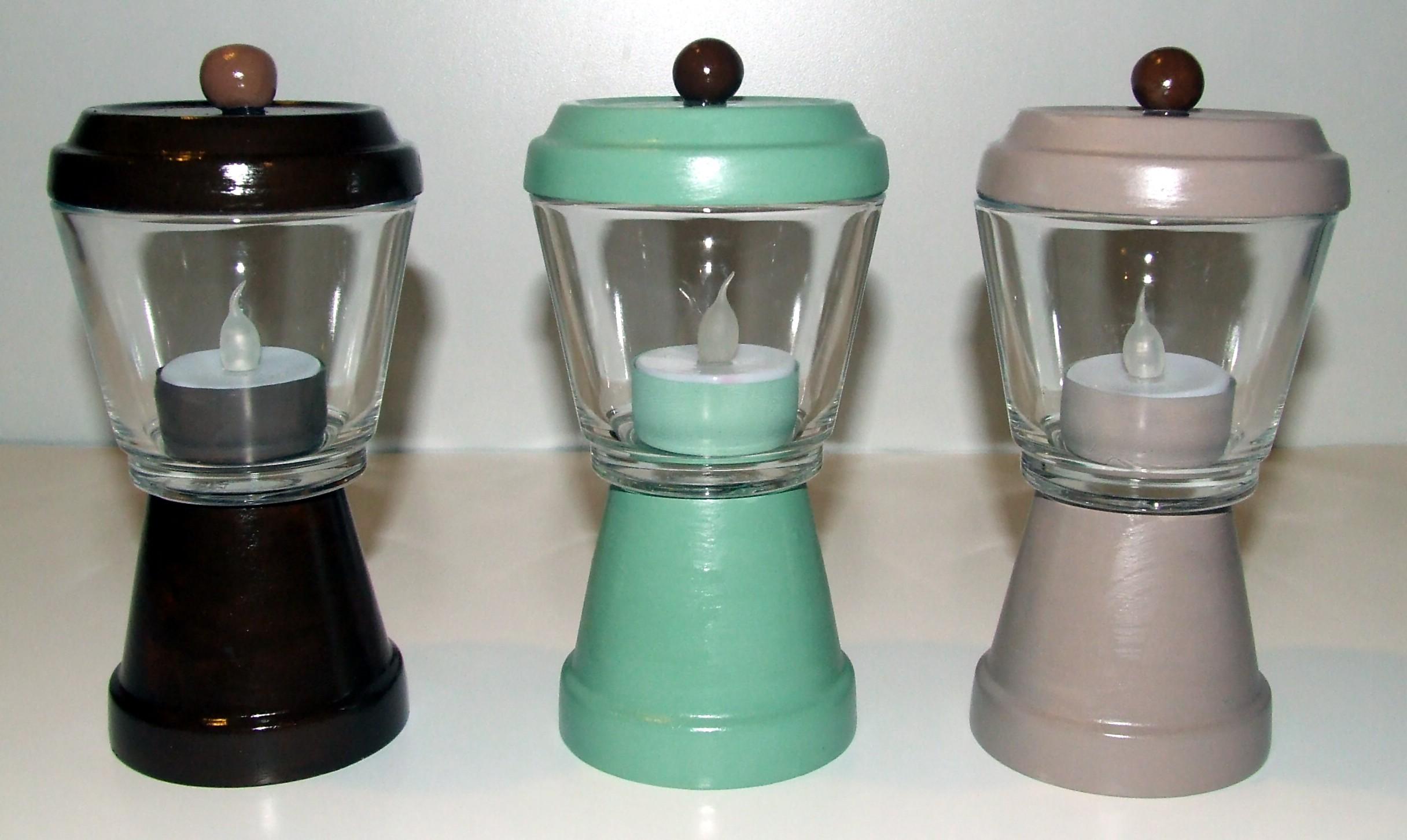 Tea Light pots