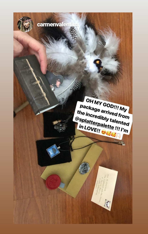 Carmen's gifts