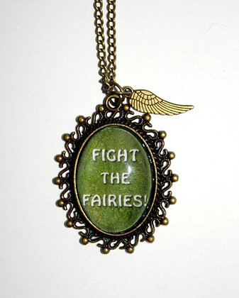Fight the Fairies! Necklace