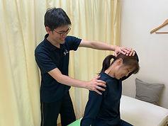 治療後説明は身体の現状やセルフケア の説明をします。