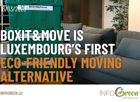 BOXit&move est la première alternative de déménagement écologique au Luxembourg
