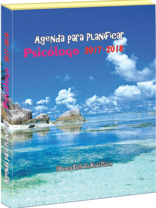 AGENDA PARA PLANIFICAR 2017-2018 PSIC