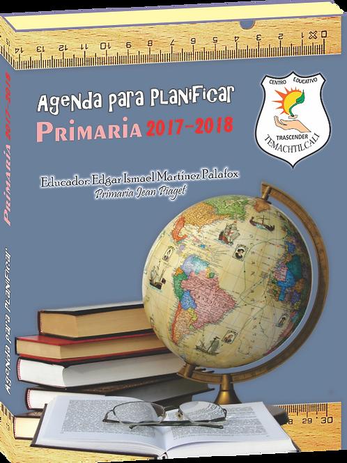 AGENDA PARA PLANIFICAR 2017-2018 PRI