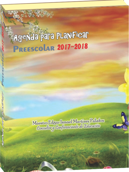 AGENDA PARA PLANIFICAR 2017-2018 PRE