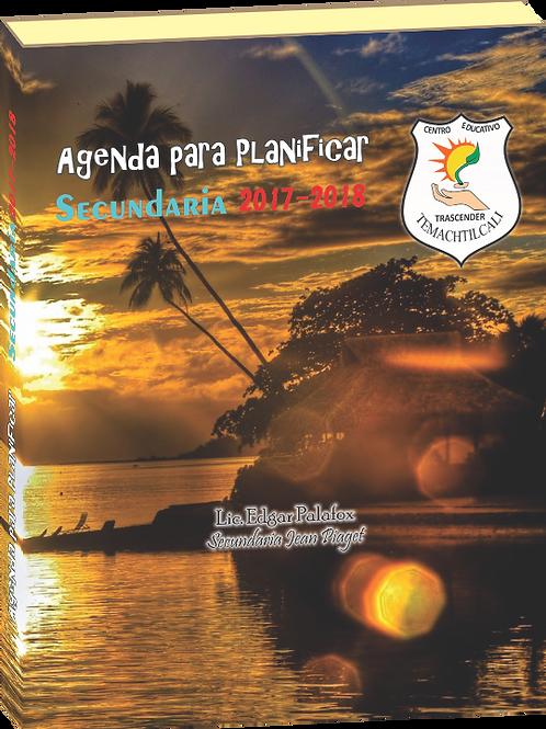 AGENDA PARA PLANIFICAR 2017-2018 SEC