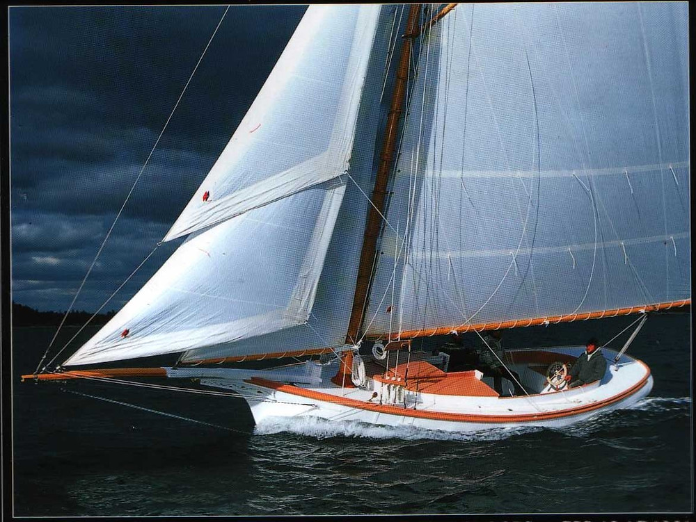 Acadia is a Replica Friendship Sloop