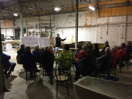 Conservation talk at Cowes Classic Boat Museum