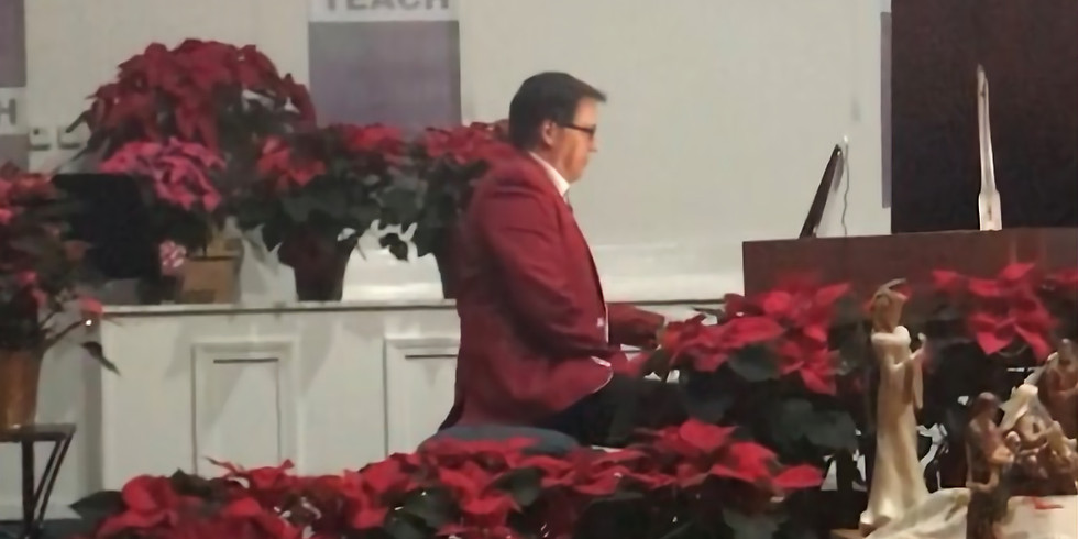 Candlelight Service Featuring - Christmas at the Piano - Dr. Rick Hendricks