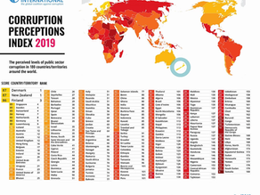 New Zealand Tops the 2019 Corruption Perceptions Index
